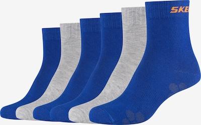 SKECHERS Socken in blau / grau / orange, Produktansicht