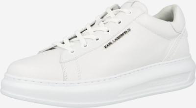 Sneaker low 'KAPRI' Karl Lagerfeld pe argintiu / alb, Vizualizare produs