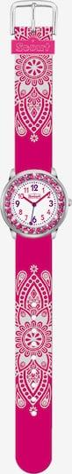 SCOUT Uhr in pink / weiß, Produktansicht