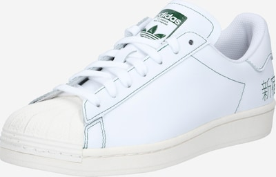 ADIDAS ORIGINALS Baskets basses ' Superstar Pure ' en blanc, Vue avec produit
