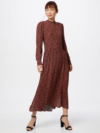mbym Kleid 'Shazzer' in braun / schwarz, Modelansicht