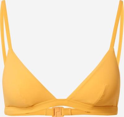 Bikinio viršutinė dalis iš ETAM, spalva – aukso geltonumo spalva, Prekių apžvalga