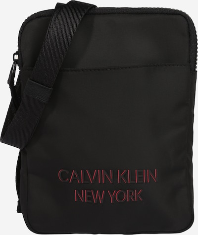 Rankinė su ilgu dirželiu iš Calvin Klein , spalva - šviesiai raudona / juoda, Prekių apžvalga