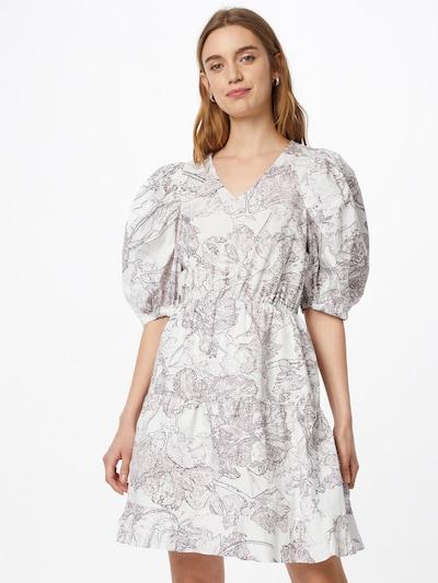 BRUUNS BAZAAR Letní šaty - fialová / černá / bílá, Model/ka