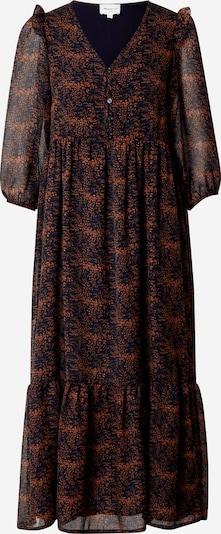 Maison 123 Robe-chemise 'CLAIRE' en bleu nuit / saumon / noir, Vue avec produit