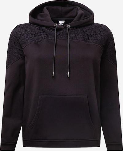 Urban Classics Curvy Sweatshirt in schwarz, Produktansicht