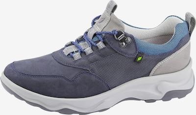 WALDLÄUFER Sportlicher Schnürschuh in himmelblau / hellgrau / violettblau, Produktansicht