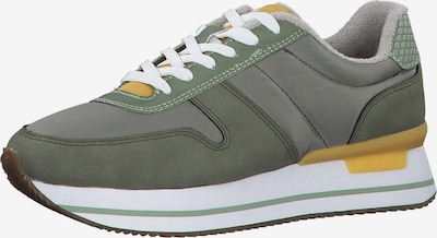 Sneaker low s.Oliver pe galben muștar / verde / verde închis, Vizualizare produs