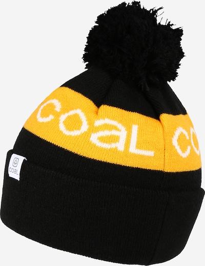 Coal Sportmütze in gelb / schwarz / weiß, Produktansicht