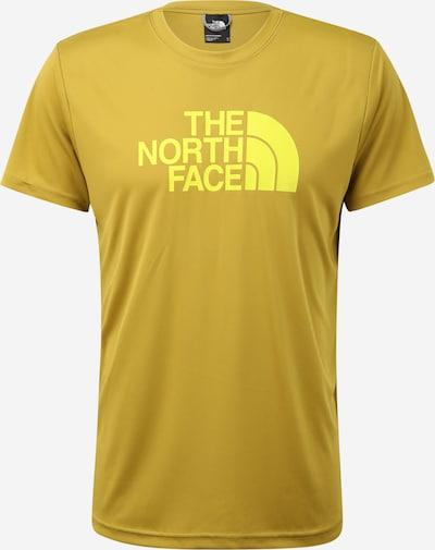 THE NORTH FACE Camiseta 'Reaxion' en amarillo / oliva, Vista del producto