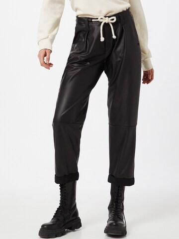 10Days - Pantalón plisado en negro