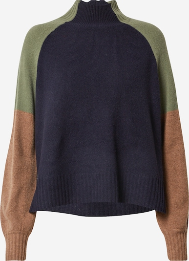 Whistles Sweater in beige / dark blue / olive, Item view