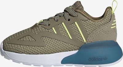 ADIDAS ORIGINALS Sneaker 'ZX 2K' in gelb / oliv, Produktansicht