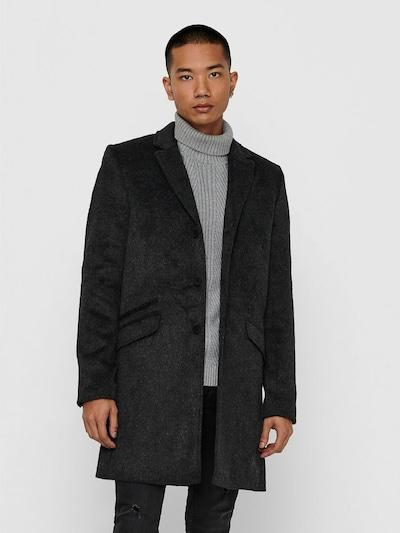 Only & Sons Manteau mi-saison en gris, Vue avec modèle