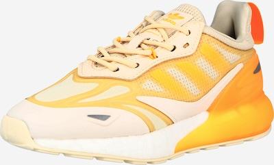 ADIDAS ORIGINALS Sneaker 'ZX 2K Boost 2.0' in beige / gelb / weiß, Produktansicht