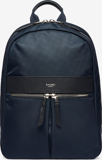 KNOMO Rucksack  'Mayfair' in nachtblau / schwarz, Produktansicht