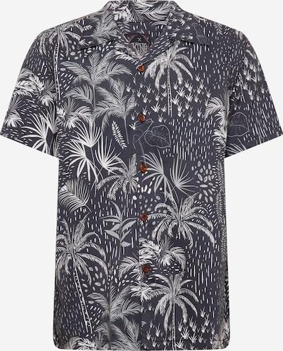 King Kerosin Hemd in schwarz / weiß, Produktansicht