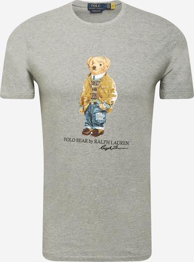 Maglietta POLO RALPH LAUREN di colore grigio sfumato / colori misti, Visualizzazione prodotti