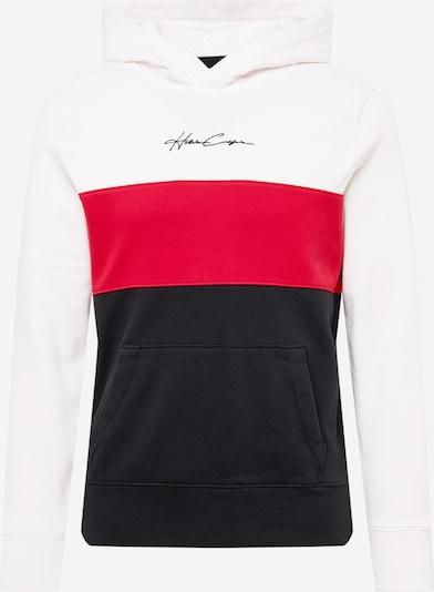 HOLLISTER Mikina - červená / čierna / biela, Produkt