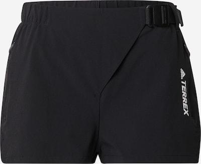 adidas Terrex Outdoor Pants in Black / White, Item view