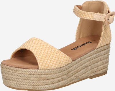Refresh Sandale in camel, Produktansicht