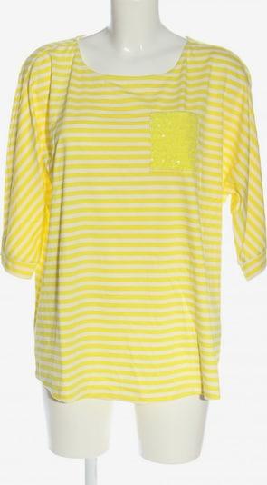 FRAPP Ringelshirt in XL in pastellgelb / weiß, Produktansicht