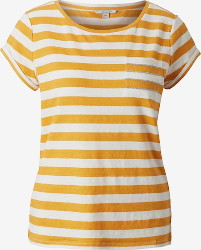 Ci comma casual identity Shirt in gelb / weiß, Produktansicht