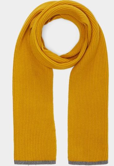 s.Oliver Schal in gelb / grau, Produktansicht