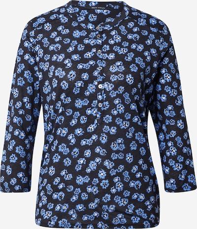 Marc O'Polo T-shirt en bleu ciel / noir chiné / blanc, Vue avec produit