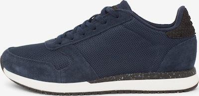 WODEN Sneakers in dunkelblau / schwarz: Frontalansicht