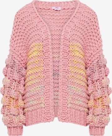 MYMO Knit Cardigan in Pink
