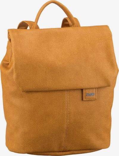 ZWEI Sac à dos ' Mademoiselle ' en jaune foncé, Vue avec produit