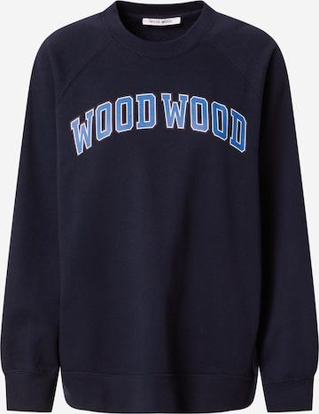 WOOD WOOD Sweatshirt 'Hope IVY' in Blau