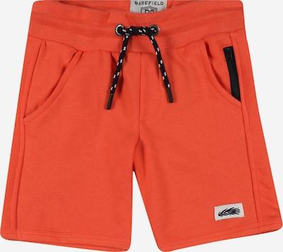 BASEFIELD Shorts in nachtblau / orange / weiß, Produktansicht