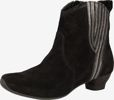 THINK! Stiefelette in silbergrau / schwarz, Produktansicht