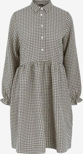 PIECES Robe-chemise 'Friti' en noir / blanc, Vue avec produit