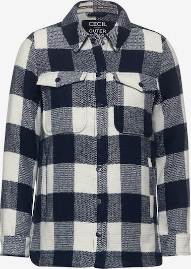 CECIL Jacke in nachtblau / weiß, Produktansicht