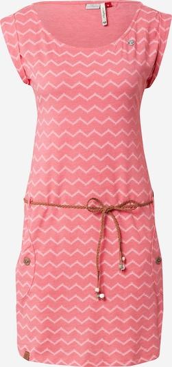 Ragwear Vasaras kleita 'CHEVRON' rožkrāsas / balts, Preces skats