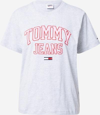 Tommy Jeans Skjorte i navy / grå / pink / rød / hvid, Produktvisning