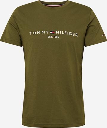 T-Shirt TOMMY HILFIGER en vert