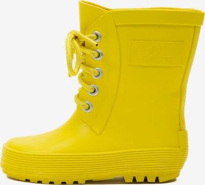 LotOfRain Regenlaarzen in de kleur Geel, Productweergave