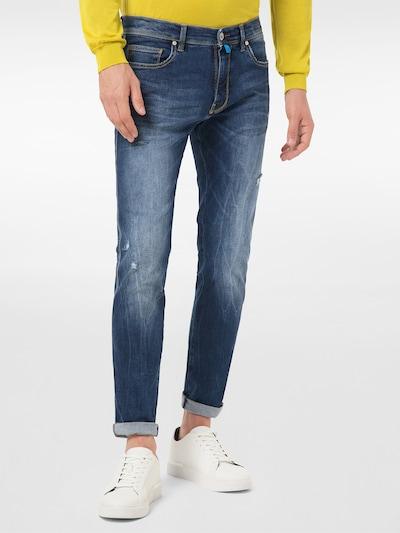 PIERRE CARDIN Jeans 'Futureflex Eco Lyon' in blue denim, Modelansicht