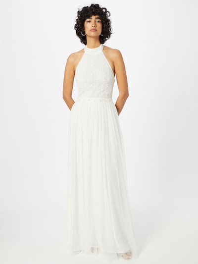 LACE & BEADS Kleid 'Edwina' in weiß, Modelansicht