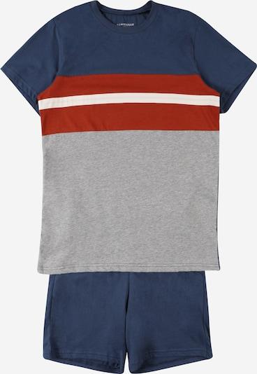 SCHIESSER Pijama en marino / rojo / blanco, Vista del producto