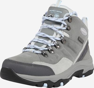 SKECHERS Boots 'TREGO' in de kleur Grijs / Lichtgrijs / Donkergrijs, Productweergave
