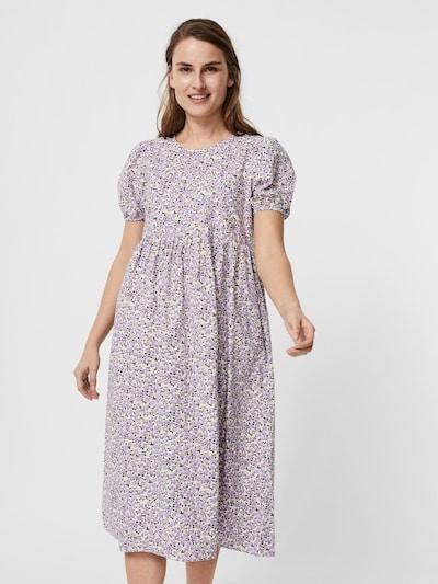 VERO MODA Kleid 'Kimmie' in lila / weiß, Modelansicht