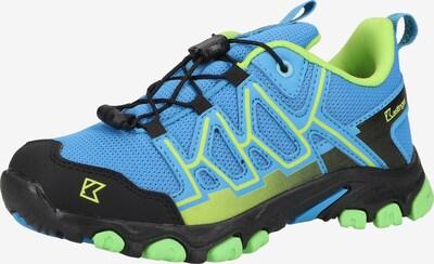 Kastinger Wanderschuhe in hellblau / neongrün, Produktansicht