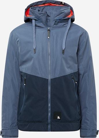 Alife and Kickin Winter jacket 'Don Esteban' in Blue