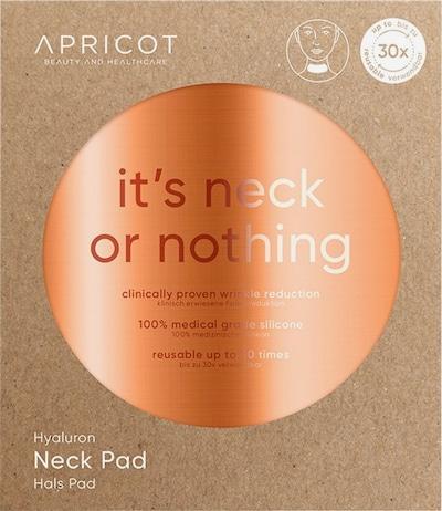 Apricot Neck Pad in weiß, Produktansicht