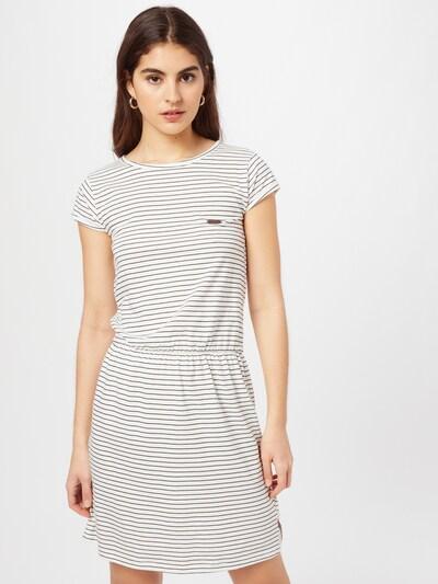 Alife and Kickin Kleid 'Shanna' in schwarz / weiß, Modelansicht